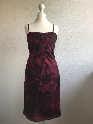 Vera Mont Vestido corsage rojo oscuro-burdeos