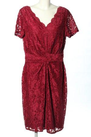 Vera Mont Spitzenkleid rot Elegant