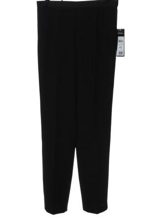 Vera Mont Pantalone jersey nero stile casual