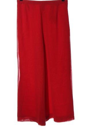Vera Mont Pantalone jersey rosso stile casual
