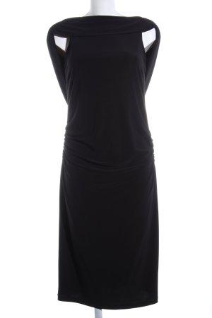 Vera Mont Vestido elástico negro elegante