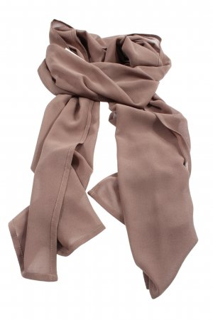 Vera Mont Sciarpa lavorata a maglia marrone stile casual