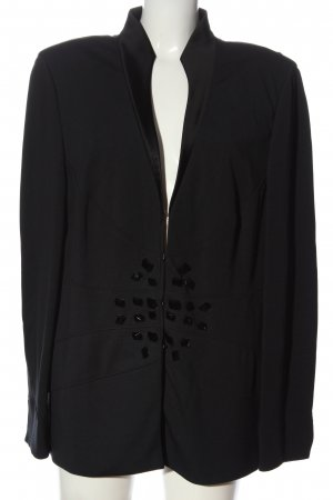 Vera Mont Sweatblazer zwart casual uitstraling