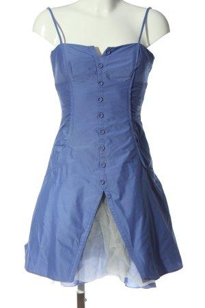 Vera Mont Trägerkleid blau-weiß Elegant