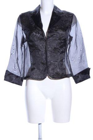 Vera Mont Transparenz-Bluse schwarz extravaganter Stil