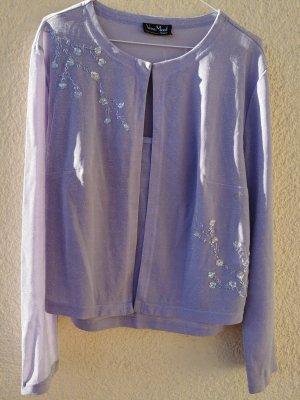 Vera Mont Sweater Twin Set lilac
