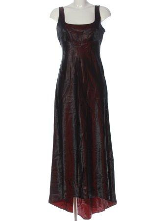 Vera Mont Vestito vokuhila nero-rosso Colore sfumato elegante