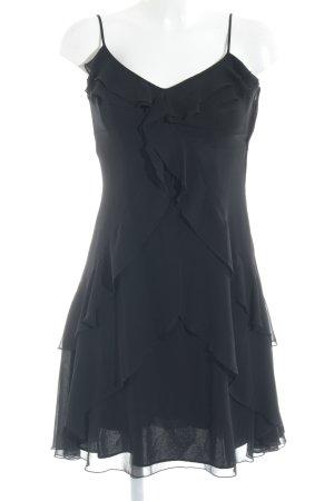 Vera Mont Volantkleid schwarz Elegant