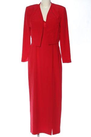 Vera Mont Twin set in tessuto rosso stile professionale