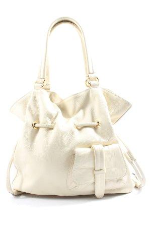 Vera Pelle Pouch Bag cream casual look
