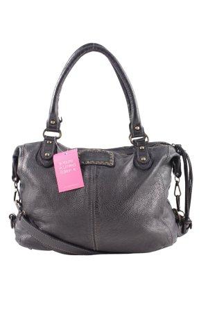 Vera Pelle Handtasche schwarz Casual-Look