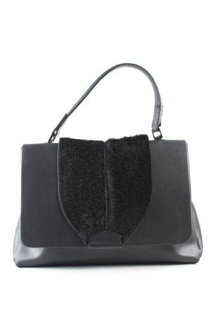 Vera Pelle Handtasche schwarz Business-Look