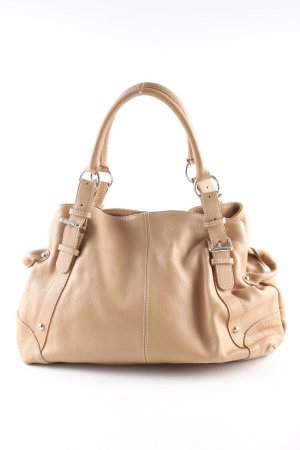 Vera Pelle Henkeltasche nude Business-Look