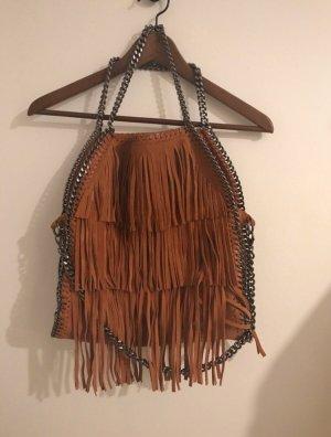 Vera Pelle Leder Tasche Fransen