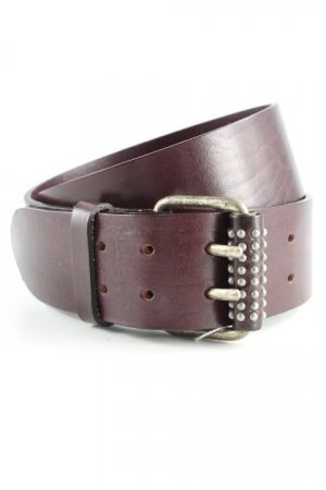 Vera Pelle Leather Belt black brown casual look