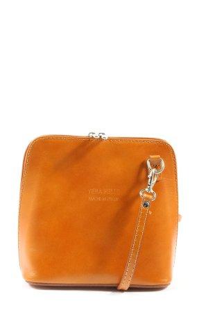 Vera Pelle Mini sac orange clair style décontracté