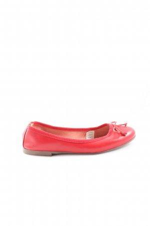 Vera Pelle Strappy Ballerinas red casual look