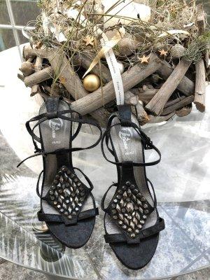 Vera Pelle Sandalen High Heels 38