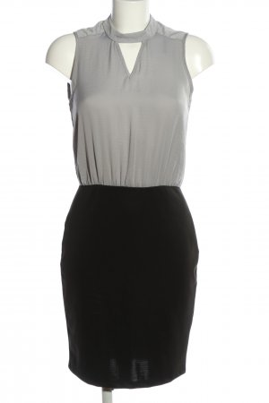 vera ravenna Halter Dress black-light grey business style