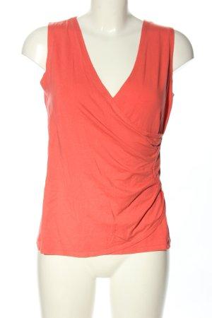Vera Varelli Cowl-Neck Top red casual look