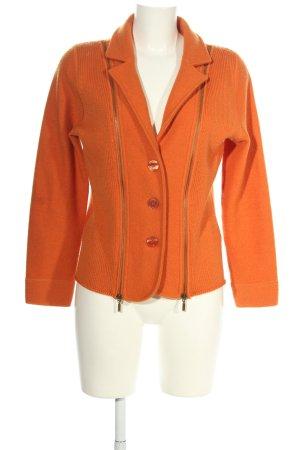 Vera Varelli Wool Blazer light orange casual look