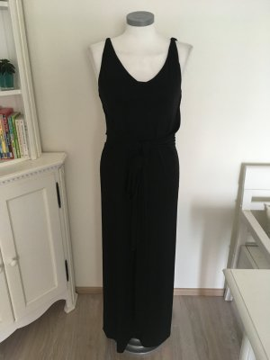 Vera Wang Kleid Abendkleid Maxikleid Stretchkleid schwarz 36 S