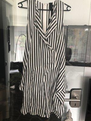 Vera Wang Robe chemisier blanc-noir