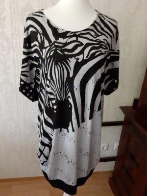 Vercotti Camicia a tunica nero-grigio chiaro