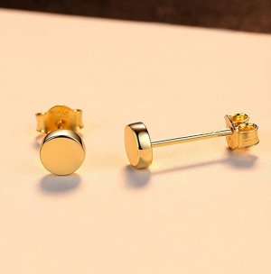 SmD Ear stud gold-colored
