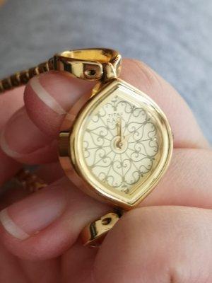 vergoldet Uhr