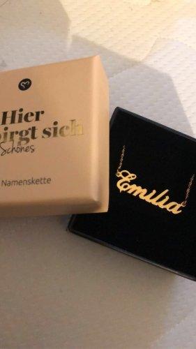 Vergoldete Namenskette