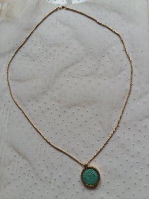 Vergoldete Silberkette von My Imenso mit 5 Insignias
