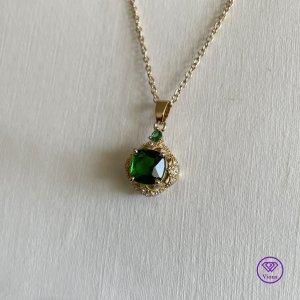 Viona Pendant gold-colored-green