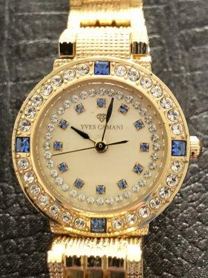 Yves Camani Horloge met metalen riempje goud