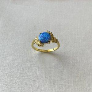 Viona Srebrny pierścionek Wielokolorowy