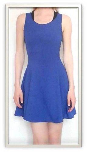 Verkaufe blaues Kleid von H&M, Gr. 36