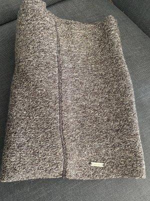 Calvin Klein Sciarpa lavorata a maglia marrone scuro