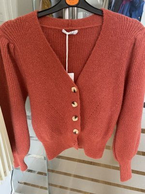 Verkaufe cardigan von Seamless Fashion in rotbraun neu