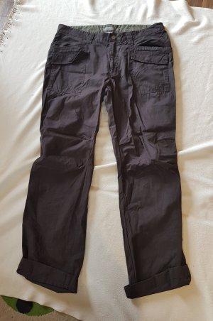 Baggy jeans grijs-bruin
