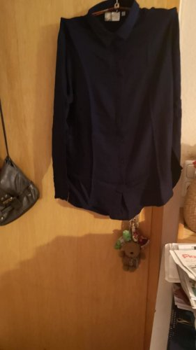 Colletto camicia blu scuro