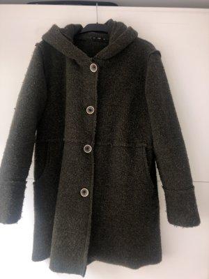 Giacca di lana grigio-verde Lana