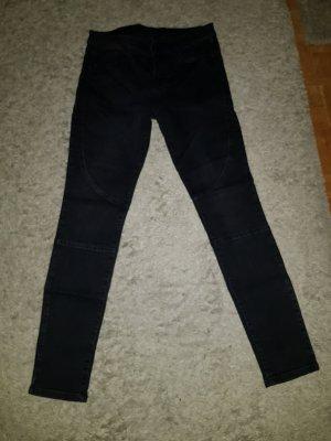Verkaufe gebrauchte Jeans in schwarz Gr. M/L von ESPRIT