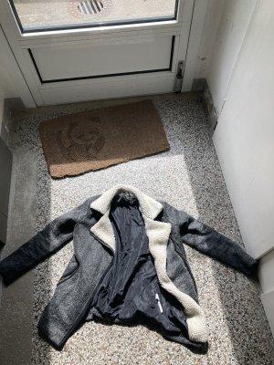 Verkaufe graue Winterjacke