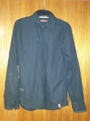 Verkaufe Hemd EDC Gr. M in schwarz Langarm gut erhalten