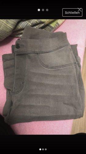 Aldi Jeans taille haute gris