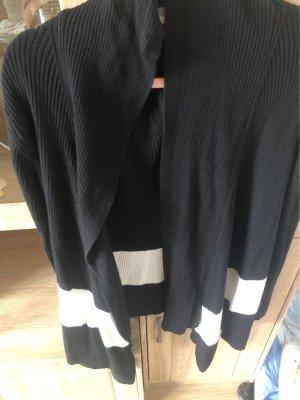 Aldi Cardigan tricotés noir-blanc