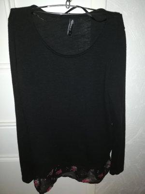 Takko Fashion Gebreid shirt zwart