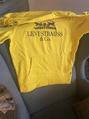 Verkaufe Levis Hoodie in gelb