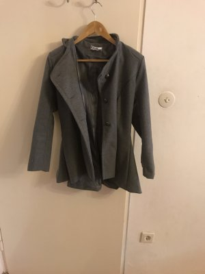 Manteau court gris