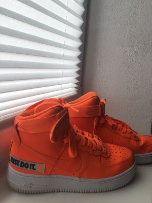 Verkaufe Nike Air Force 1 High Just Do It - Orange